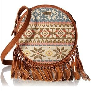 Roxy bohemian style crossbody bag